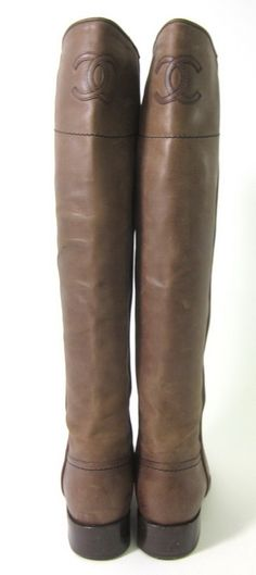 Chanel riding boots- could you get anymore classic, seriously?
