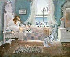 "Barbara Cooney Miss Rumphius' Bedroom for ""Miss Rumphius"", 1982"