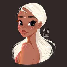 Girl Drawing Sketches, Cartoon Girl Drawing, Girl Cartoon, Cool Drawings, Art Inspo, Art Inspiration Drawing, Cute Art Styles, Cartoon Art Styles, Art Scratchboard