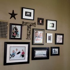 Wall Picture Layout Idea