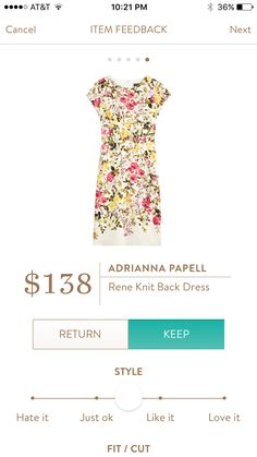 Adriannd Papel Rene knit back dress this is cute but not sure it would look good on me