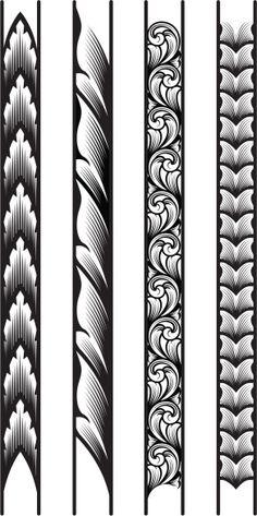 Page Corner Engraving Designs Board