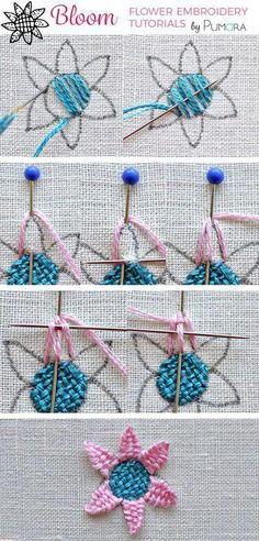 Embroidery Stitches Definition since Embroidery Designs Tops every Sports Embroidery Near Me many Embroidery Hoop Guide Embroidery Stitches Tutorial, Learn Embroidery, Embroidery Needles, Crewel Embroidery, Hand Embroidery Patterns, Embroidery Techniques, Ribbon Embroidery, Cross Stitch Embroidery, Simple Embroidery
