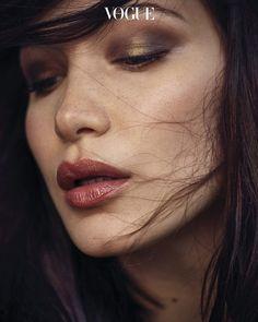 makeup 2018 color - Vogue Korea January 2018 Bella Hadid by Ahn Jooyoung Makeup 2018, Dior Makeup, Beauty Makeup, Eye Makeup, Makeup Style, Makeup Trends, Makeup Inspo, Makeup Inspiration, Makeup Ideas