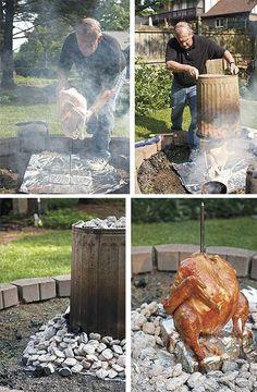 Trash Can Chicken