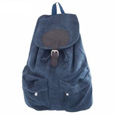 Omgnb Retro Canvas Casual Backpacks for Women