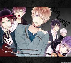 Tags: IDEA FACTORY, Official Art, Satoi, Diabolik Lovers ~Haunted dark bridal~, Sakamaki Ayato, Sakamaki Kanato, Sakamaki Subaru, Sakamaki L...