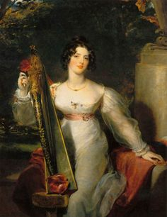 Portrait of Lady Elizabeth Conyngham, Sir Thomas Lawrence. English (1769-1830)