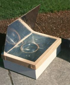 """minimum"" Solar Box Cooker"