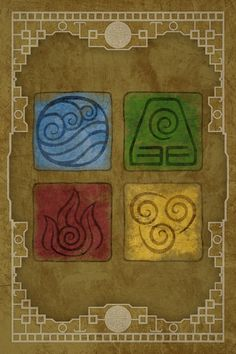 Avatar Elements iPhone Wallpaper (with color) by Pixilpadaloxicopolis on DeviantArt