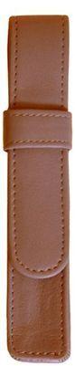 Royce Leather 1 Pen Case Tan