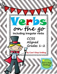 VERBS Packet-FREEBIE Grades 1-2 Aligned to Common Core