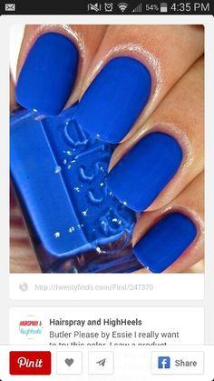 Colbalt nails