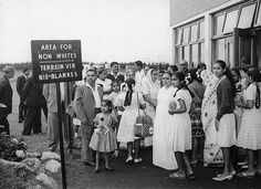 Segregation - Indians in South Africa 1960 waiting in the designated non-white area of segregated airport Africa People, Canada Images, Jim Crow, Apartheid, Lest We Forget, Mahatma Gandhi, Folk Music, African History, Me On A Map
