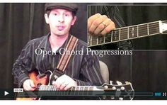How To Play Open Chord Sequences #chord | www.elmore-music.com