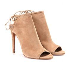 mytheresa.com - Mayfair suede stilettos - Luxury Fashion for Women / Designer clothing, shoes, bags