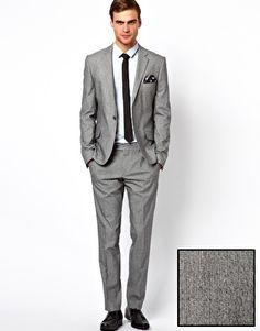 Caxton Fine Stripe Suit