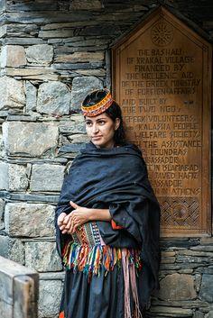 Portrait of a Kalash Girl