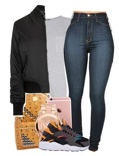 """""""Untitled #1215"""" by tonibalogni ❤ liked on Polyvore featuring Topshop, MCM, Michael Kors, women's clothing, women, female, woman, misses and juniors"""