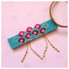 Seed Bead Patterns, Peyote Patterns, Loom Patterns, Bracelet Patterns, Beading Patterns, Peyote Beading, Beaded Brooch, Beaded Jewelry, Bracelets