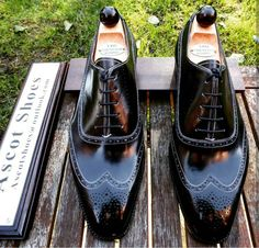 Ascot Shoes — A pair called the Ascot Budapest becoming a...