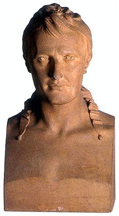 Bust of Napoleon I, Jean-Antoine Houdon, 1806, terracotta