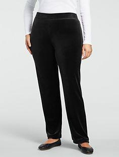 Talbots - Velour Pants | Loungewear | Misses