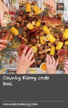 County Kerry crab boil | Here is my basic recipe for a classic summer crab boil that is especially fun to host as a small dinner party – al fresco if weather permits. The crab boil is more a method than a recipe; the fun of it is in the preparation and the laidback eating ritual is what makes it especially delicious. We like to invite a few friends or neighbours over for Sunday lunch and serve up the boil under the horse chestnut trees with ice-cold craft cider, elderflower or apple blossom cord Cold Lunch Recipes, Cold Lunches, Summer Recipes, Dinner Recipes, Fresh Basil Recipes, Cordial Recipe, Craft Cider, Elderflower Cordial, Horse Chestnut