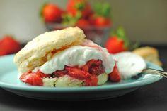 "YUM! Strawberry shortcake recipe pinned on Farmhouse Sister's Pinterest page. Recipe from ""Juanita's Cocina"" blog."