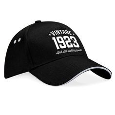 95th Birthday 1923 Gift Vintage Embroidered Hat