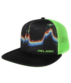 Pelagic sonar Trucker Cap