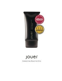 For radiant, healthy looking, even skin, try Jouer's Luminizing Moisture Tint. There's no question why this is an award winning formula.