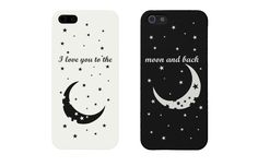 I Love You to the Moon and Back Couples Matching Cell Phone Cases for iphone Bff Iphone Cases, Bff Cases, Iphone 5s, Couples Phone Cases, Iphone 7 Plus, Couple Cases, Funny Phone Cases, Iphone Phone Cases, Best Friend Cases
