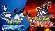 """Pokémon Saphir Alpha"" et ""Pokémon Rubis Oméga"" : attrapez-les tous !"