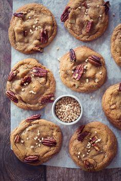 cookies aux pépites d'érable et noix de pécan ©Fraise & Basilic