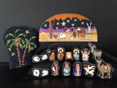 Winslow's nativity. Another one, design gallery needlepoint