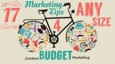 Producing content when you have a big budget is easy. Producing the right content  for your audience on any budget is the tough part. https://virtuadminblog.wordpress.com/2015/05/27/17-content-marketing-tips-for-any-size-budget/