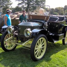 <p>This is a steam engine car, and is probably one of the slowest of the bunch. It also takes him about 30 minutes just to get it started.</p><p>Once you do get the car up and running, you are driving on the power of steam.</p>