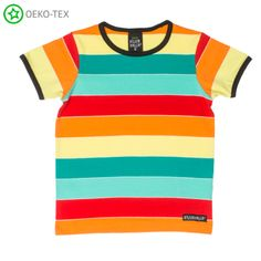 Villervalla Monaco Multi Stripe Short Sleeved T-shirt