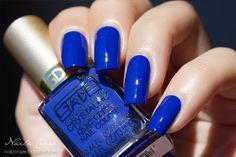 GA-DE Crystallic - Melody Blue 38 Shades Of Blue, Blues, Nail Polish, Nails, Enamels, Finger Nails, Ongles, Nail Polishes, Polish