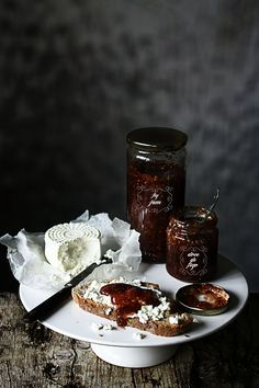 Pratos e Travessas: Doce de figos | Fig jam | Food, photography and stories