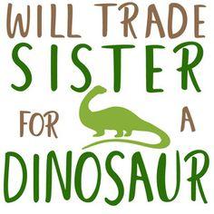 Silhouette Design Store: Trade Brother For Dinosaur Unicorn Halloween, Cricut Craft Room, Dinosaur Design, Cricut Explore Air, Making Shirts, Vinyl Shirts, Kids Corner, Vinyl Projects, Silhouette Design
