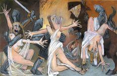"John Ila, ""Rape of the Sabine Women"""