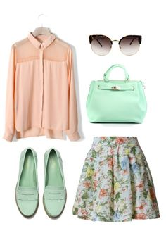 Sherbet. That blouse in particular strikes my fancy.