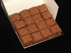 Brownies www.ricapasteleria.com