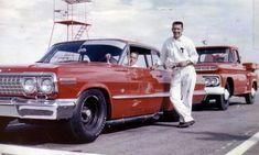 Inside the '63 Chevy 427 Mystery Engine | Mac's Motor City Garage Chevrolet Impala 1963, Chevy Impala Ss, Road Race Car, Race Cars, Nascar Racing, Drag Racing, Vintage Race Car, Cool Cars, Classic Cars