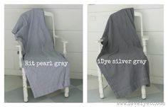 different shades of gray fabric dye