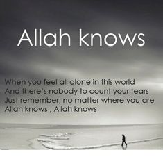 Be inspired with Allah Quotes about life, love and being thankful to Him for His blessings & mercy. See more ideas for Islam, Quran and Muslim Quotes. Allah Quotes, Muslim Quotes, Religious Quotes, Quran Quotes, Allah God, Allah Islam, Islam Quran, Islam Beliefs, Islam Muslim