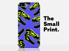 Dinosaur iPhone Case Jurassic Park iPhone by TheSmallPrintCases