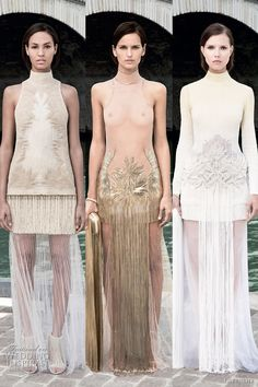 givenchy fall 2011 couture dresses